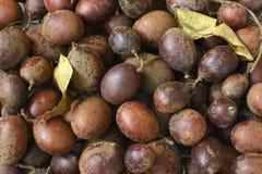 Fruit de Guapaque sur le marché Images stock