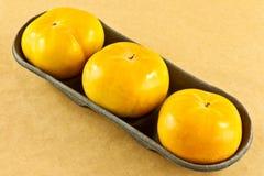 Fruit de kaki Photos stock
