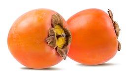 fruit de kaki sur le blanc Image stock