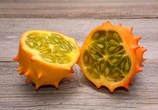 Fruit de Kiwano image libre de droits