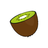 Fruit de Kiwi Delicious Image libre de droits