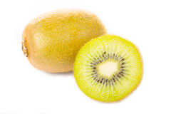 Fruit de Kiwi Juice d'isolement photographie stock libre de droits