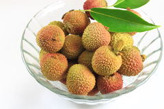 Fruit de litchi Images stock