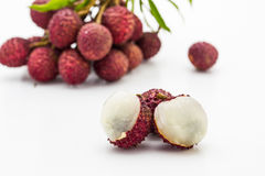 Fruit de litchi. Photographie stock