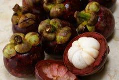 Fruit de mangoustan images stock