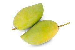 Fruit de mangue d'isolement sur le fond blanc Photo stock