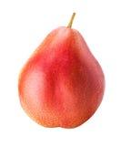 Fruit de poire d'isolement sur le fond blanc Images stock