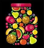 fruit de pomme illustration libre de droits