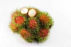 Fruit de ramboutan Photos libres de droits