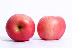 Fruit de rouge de McIntosh image stock
