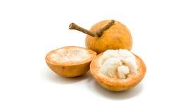 Fruit de Santol d'isolement sur le fond blanc image stock