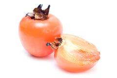 Fruit de Sharon d'isolement Photographie stock