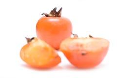 Fruit de Sharon d'isolement Photos stock