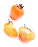 Fruit de Sharon d'isolement Photo stock