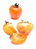 Fruit de Sharon d'isolement Photo libre de droits