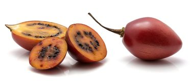 Fruit de tamarillo d'isolement Photo libre de droits