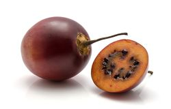 Fruit de tamarillo d'isolement Photographie stock libre de droits