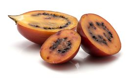 Fruit de tamarillo d'isolement Photo stock