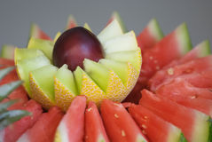 Fruit decoration Royalty Free Stock Photos