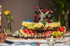 Fruit decoration Stock Photos