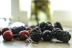 Fruit  delicious. Give me more and more berry Royalty Free Stock Images
