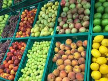 Fruit department isolate. Fruit department background unit isolate stock photos