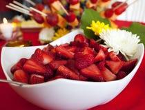 Fruit desert Stock Images