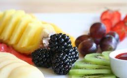 Fruit desert. Photo (close-up Royalty Free Stock Photo
