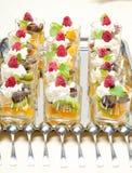Fruit deserts Stock Image