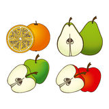 Fruit design Royalty Free Stock Images