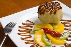 The fruit dessert Stock Photography