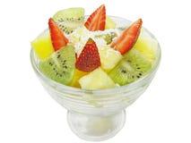 Fruit dessert Royalty Free Stock Images