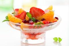 Fruit dessert Stock Photos