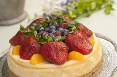 Fruit dessert Royalty Free Stock Photography