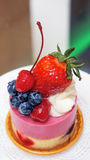 Fruit dessert Stock Photography