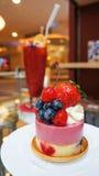 Fruit dessert Stock Images