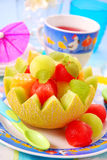 Fruit dessert for child royalty free stock photography