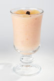 Fruit dessert in a cup. Stock Image