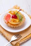 Fruit dessert tarts Stock Photo