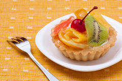 Fruit dessert tarts Stock Photography