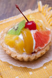 Fruit dessert tarts Royalty Free Stock Photography