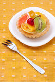 Fruit dessert tarts Royalty Free Stock Images