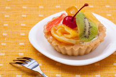 Fruit dessert tarts Stock Image