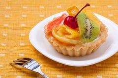 Fruit dessert tarts Stock Image