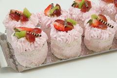 Fruit desserts Royalty Free Stock Photography