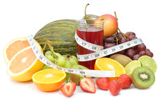Fruit detox Royalty Free Stock Images