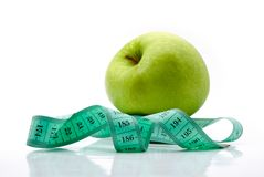 Fruit diet. Control of weight through proper nutrition Stock Photos