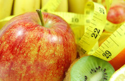 Fruit diet stock image