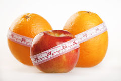 Fruit diet Royalty Free Stock Images