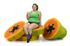 Fruit diet Stock Photo